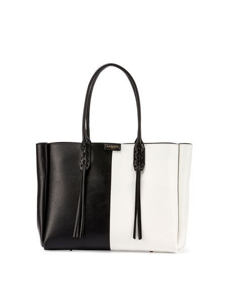 chloe shopper tote black