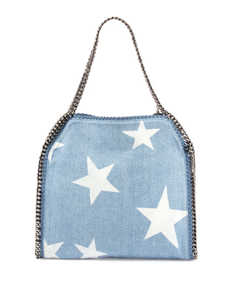 ca061ea9b8b3 Stella McCartney Small Falabella Star-Print Tote Bag