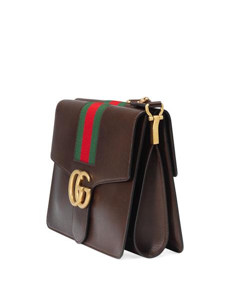 fdbb8d21e0e Gucci GG Marmont Leather Shoulder Bag
