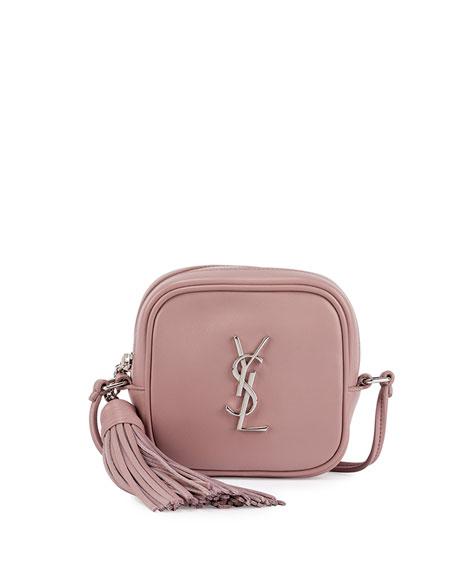 Monogram Blogger Crossbody Bag, Dusty Pink