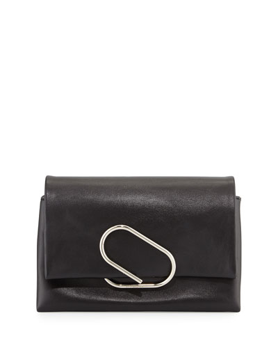 Alix Soft Flap Clutch Bag