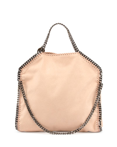 Falabella Fold-Over Shopper Bag, Powder
