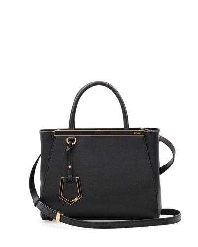 2Jours Petite Satchel Bag, Black