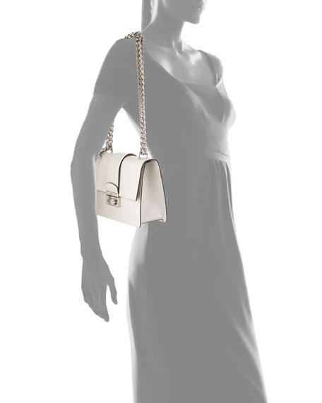 choice handbags - Prada New Chain Saffiano Shoulder Bag, Talco
