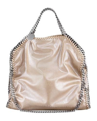 Falabella Fold-Over Tote Bag, Redwood