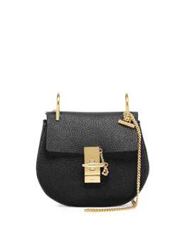 Drew Mini Shoulder Bag, Black