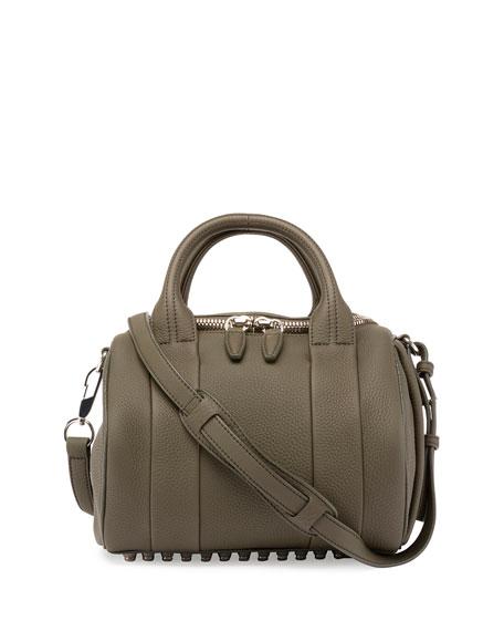 Mini Rockie Matte Pebbled Duffel Bag, Grass