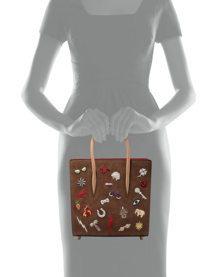 Paloma Small Patch Tote Bag, Tan