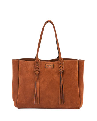The Suede Bag