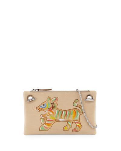 Happy Hour 7 Shoulder Bag, Multi/Tiger
