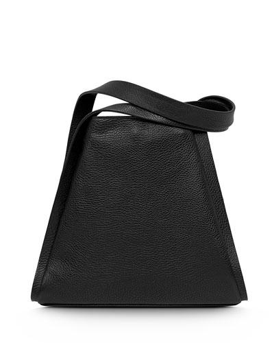 Alex Medium Seamed Bucket Tote Bag, Olive