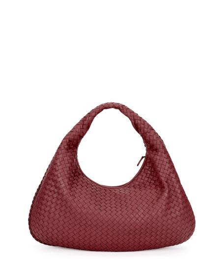 Veneta Large Intrecciato Hobo Bag