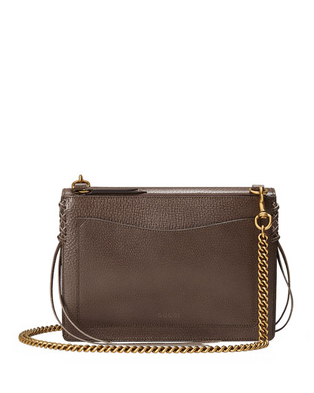 2c039f9426c Gucci Animalier Leather Shoulder Bag