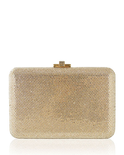 Fully Beaded Slimslide Clutch Bag