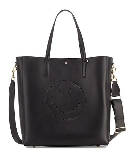 33983feb7df9 Anya Hindmarch Ebury Shopper Smiley Tote Bag