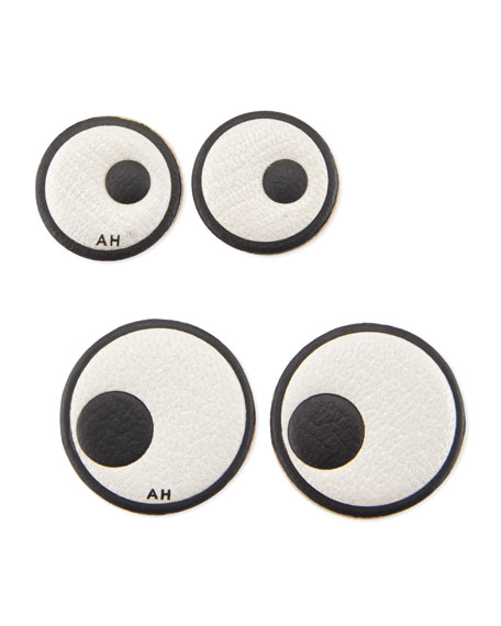 Leather Eye Stickers for Handbag