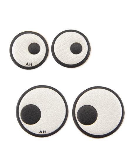 Leather Eye Stickers for Handbag