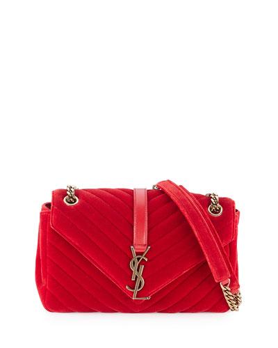 c30a6d024b ... shoulder . belle rose leather purse - Saint Laurent Apparel   Shoes    Dresses at Bergdorf Goodman yves ...