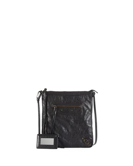 e2d224af0 Balenciaga Classic Flat Crossbody Bag, Black