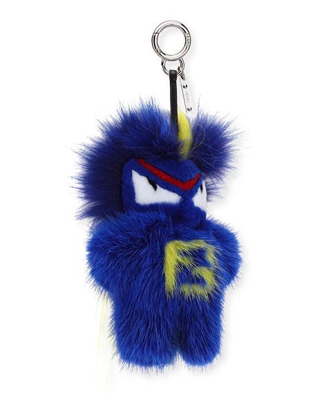 Fendirumi Micro Monster Charm, Blue/Multi