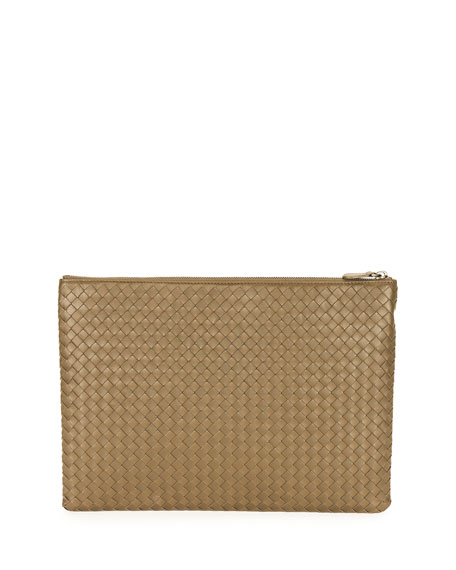 9d2409082c30 Large Zip-Top Cosmetics Bag Calvados Gold
