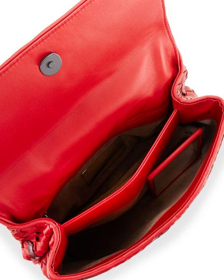 29eee8b152 Bottega Veneta Olimpia Intrecciato Snakeskin   Leather Shoulder Bag