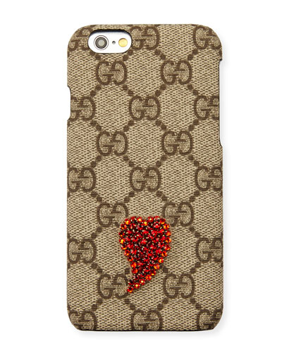 Beaded GG Supreme iPhone 6 Plus Case