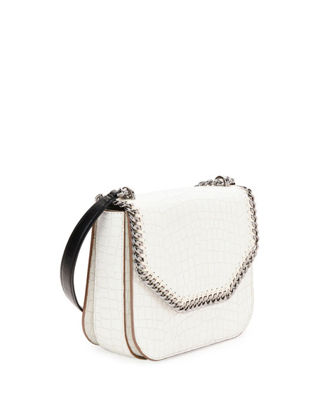 Alter Croc-Embossed Shoulder Bag