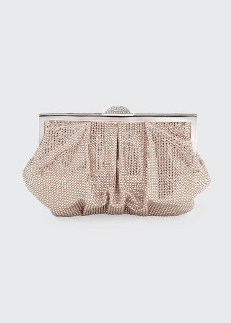 Natalie Beaded Clutch Bag, Red