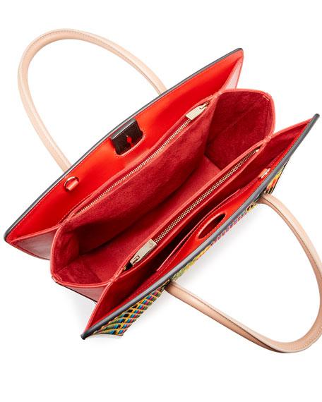 Paloma Medium Woven Tote Bag, Multi