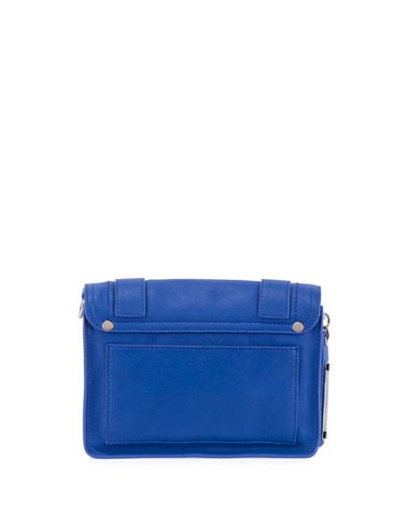 PS11 Mini Leather Shoulder Bag, Memphis Blue