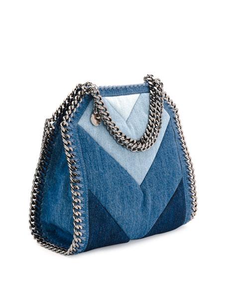 Stella McCartney Patchwork Mini Denim Tote Bag 20968f2e6831d