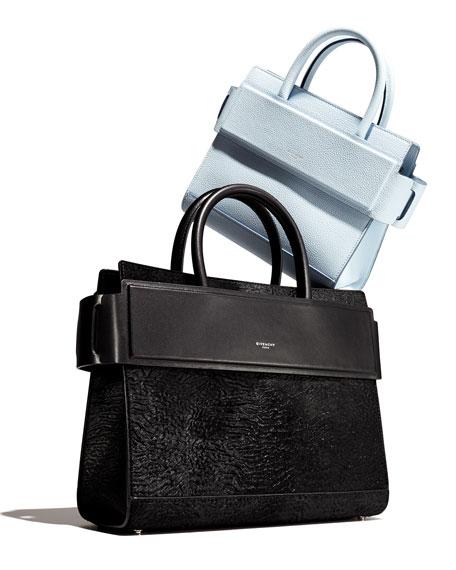 Horizon Mini Grained Leather Tote Bag