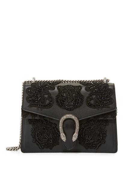 cc6acf953969 Gucci Dionysus Medium Embroidered Shoulder Bag