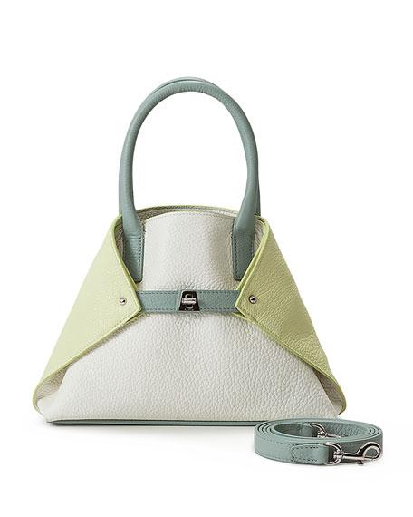 Ai Mini Cervo Leather Messenger Bag