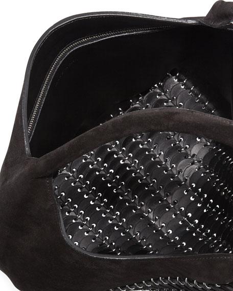 14#01 Pliage Mini Suede Tote Bag