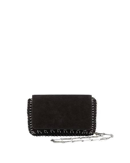 Paco Rabanne Mini Leather Chain Shoulder Bag