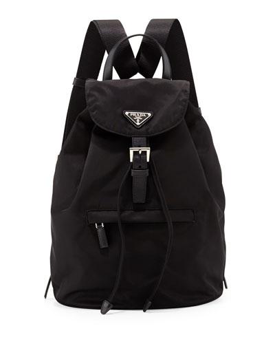 Vela Medium Backpack  Black (Nero)