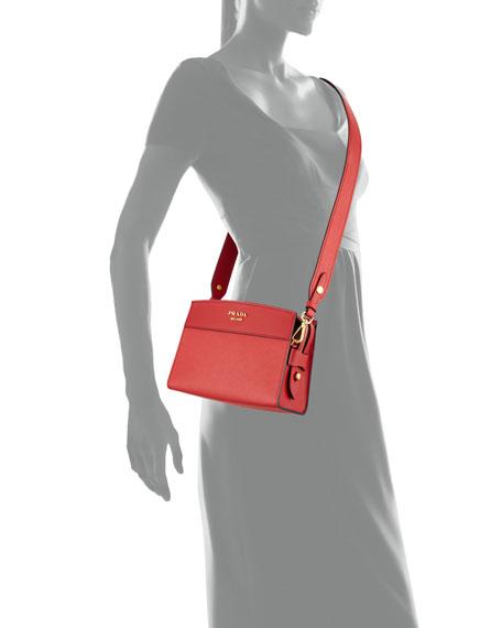 b06cec8d88 Prada Esplanade Saffiano Crossbody Bag