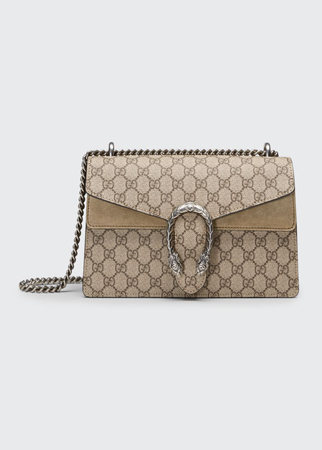 598124bfcf8e53 Gucci Dionysus GG Supreme Small Shoulder Bag