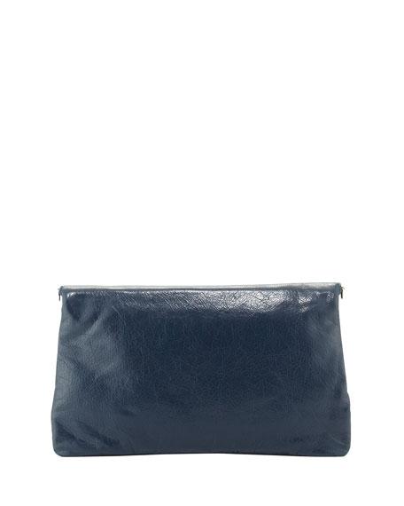 ea18de97fd Balenciaga Giant 12 Lambskin Envelope Crossbody Bag, Blue