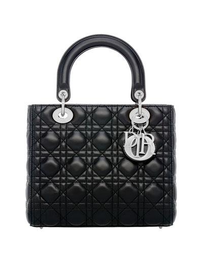 Medium Lady Dior Bag with Strap