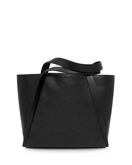 Alex Medium Seamed Bucket Tote Bag