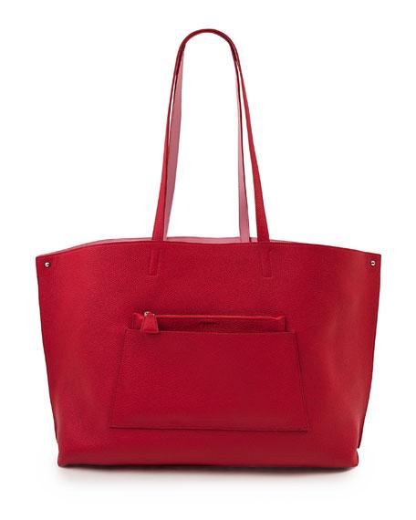 Ai Medium Reversible Colorblock Tote Bag