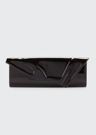 So Kate Patent East-West Clutch Bag, Black