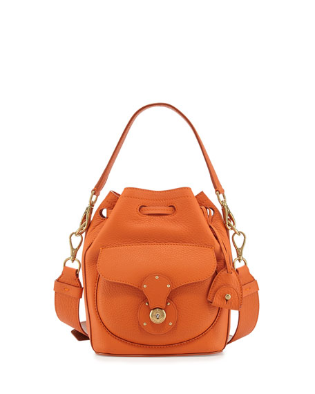 Ralph Lauren Leather Bucket Bag