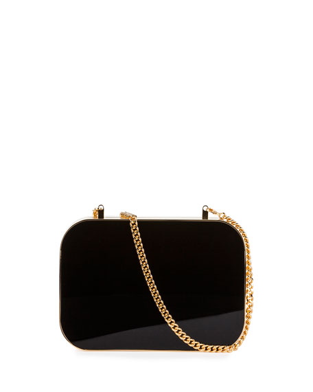 Plexiglass Box Clutch Bag