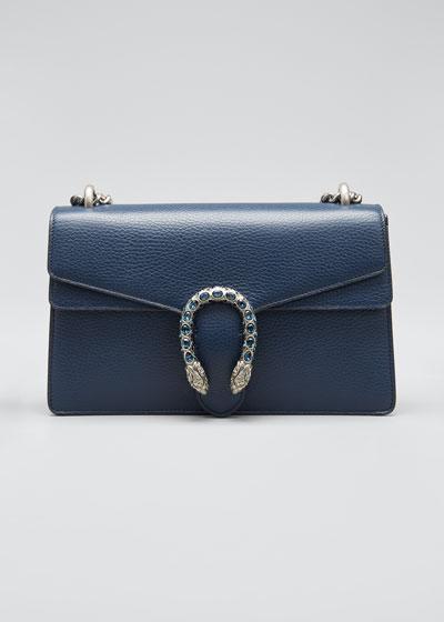 Dionysus Pebbled Leather Shoulder Bag
