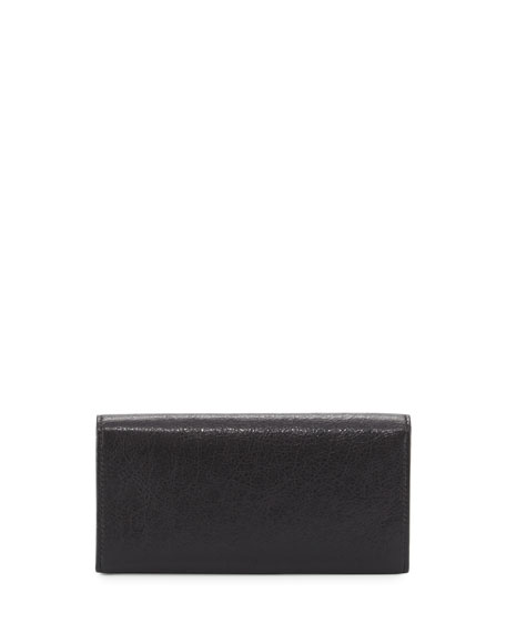 Classic Gold Money Wallet, Black (Noir)