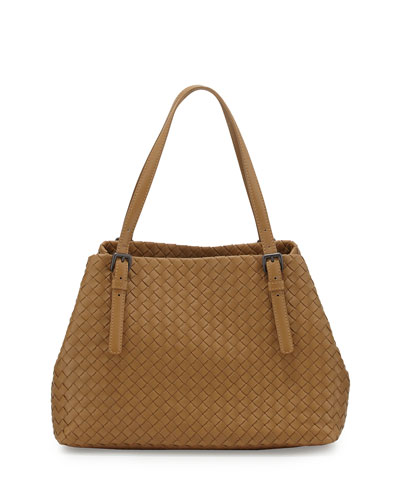 Intrecciato Medium A-Shaped Tote Bag